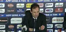 "Allegri : ""Ce n'était pas facile contre Cagliari"""