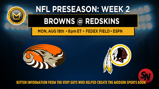 Browns @ Redskins