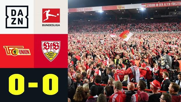 Relegation: 1. FC Union Berlin - VfB Stuttgart | DAZN Highlights
