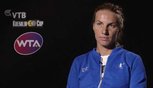Kuznetsova Interview: WTA Moscow QF