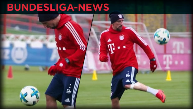 Ribéry zaubert im Training - Bundesliga-News