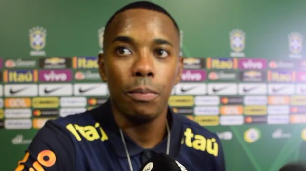 """Brasilien: Robinho: """"Gefühl, weinen zu müssen"""""""