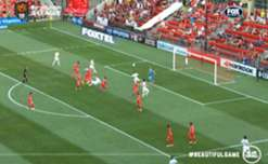 Wanderers striker Labinot Haliti tucked home from close range to open the scoring against Adelaide.