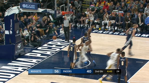 Assist of the Night: Lance Stephenson