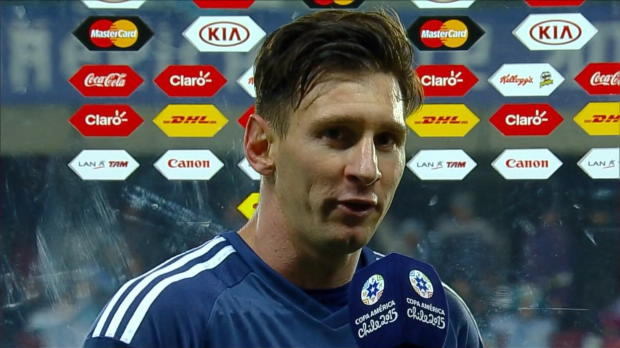 "Copa America: Messi: ""Hatten zum Glück Kun"""