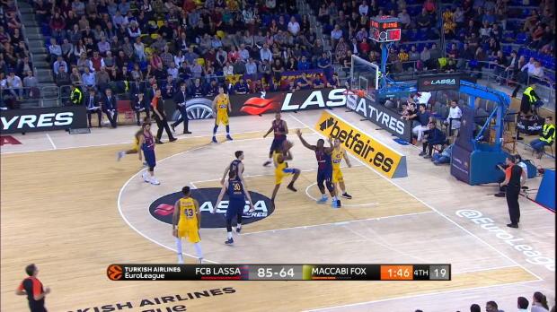 Basket : Euroligue (9e j.) ? Neuf points et un superbe bloc pour Kevin Séraphin