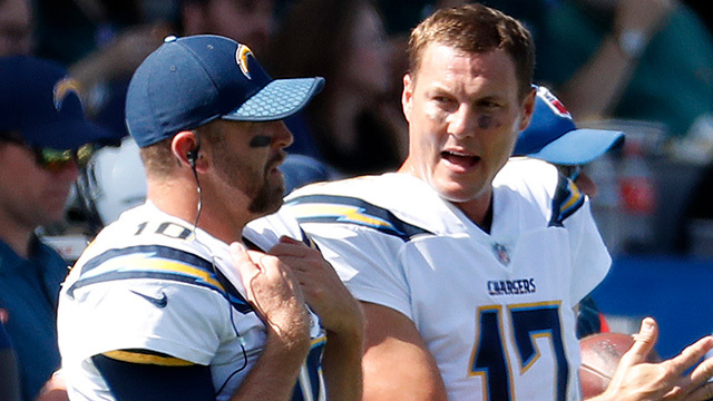 Quarterback Philip Rivers on possibility of Los Angeles Chargers drafting a QB: 'I know it's a matter of time'