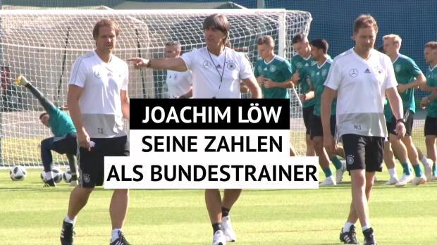 Löws Zahlen: Deshalb bleibt er Bundestrainer