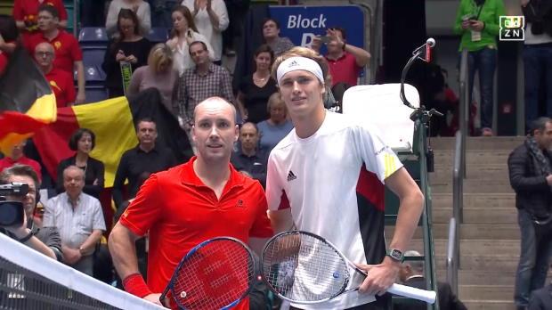 Davis Cup: Deutschland - Belgien, Tag 3