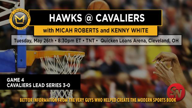 Hawks @ Cavaliers Game 4
