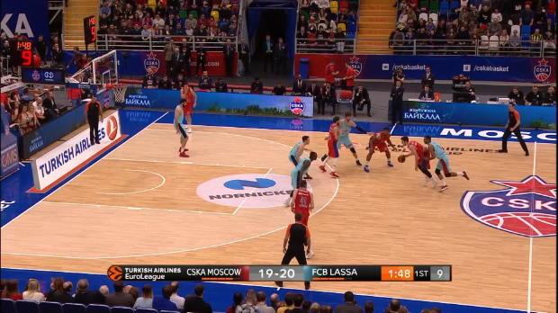 Basket : Euroligue (10e j.) - De Colo, impérial face au Barça