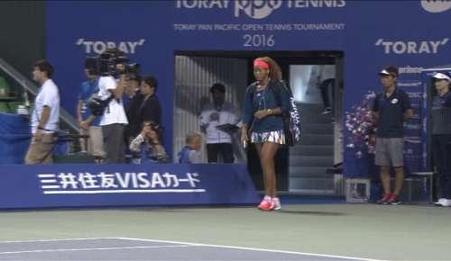 Sasnovich v Osaka Highlights: WTA Tokyo QF