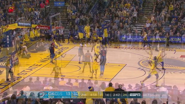 WSC: Stephen Curry (21 points) Highlights vs. Oklahoma City Thunder