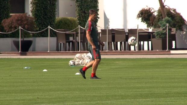 Chefsache! Kovac-Brüder mischen FCB-Training auf