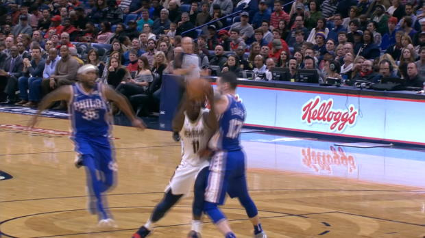 Block of the Night: Trevor Booker