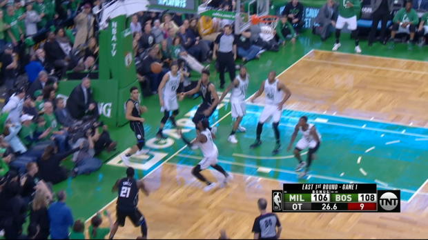 Block of the Night: Jayson Tatum