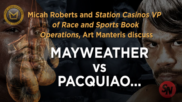 Stations Casino VP of Race and Sports Art Manteris on the Big Fight