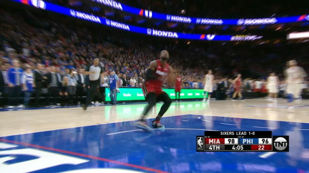 Steal of the Night: Dwyane Wade