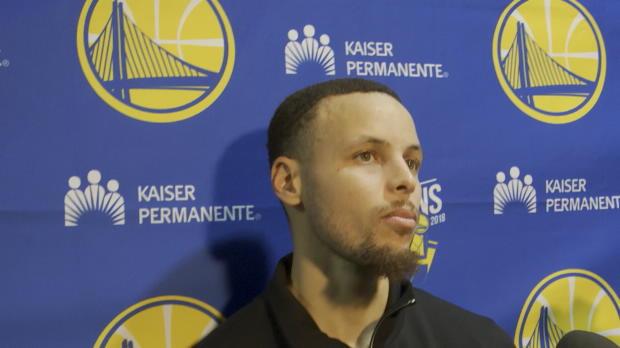 """Basket : Warriors - Curry - """"J?ai connu des matches compliqués auparavant aussi"""""""