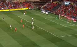 Midfielder Andreu scored at both ends in the Wanderers' 1-1 draw against Adelaide.
