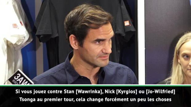 : Open d'Australie - Federer - 'Je sens que je peux battre tout le monde'
