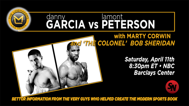 Linemakers Boxing Garcia Vs. Peterson