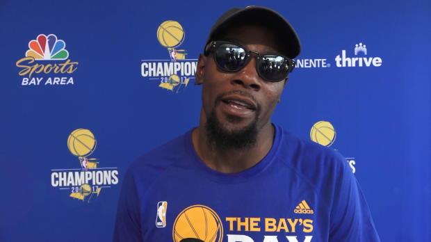 """Basket : Golden State - Durant - """"Beaucoup de chaos autour de nous"""""""