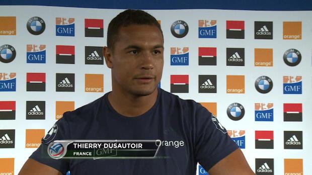XV de France - Dusautoir - 'Je suis impatient'