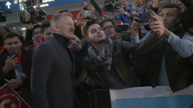 Schweinsteiger llega a Chicago