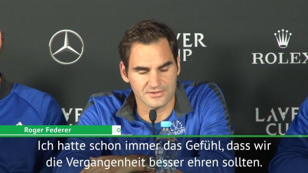 """Laver Cup: Federer will """"Legenden ehren"""""""