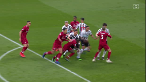Premier League: Newcastle - Liverpool | DAZN Highlights
