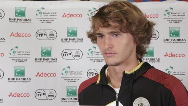 Davis Cup: Zverev: Will Mannschaft unterstützen