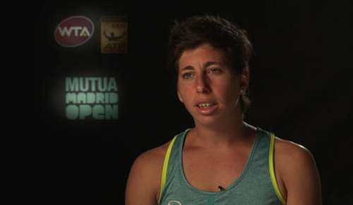 Navarro Interview: WTA Madrid 2R