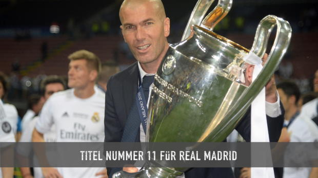 Der Weg von Real Madrid zu Titel Nummer 11