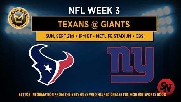 Houston Texans @ New York Giants