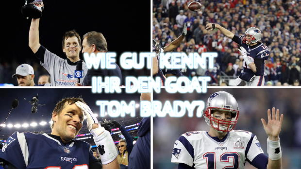 Quiz-Time! Wie gut kennt ihr GOAT Tom Brady?