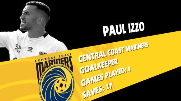 Mariners keeper nominated for NAB award