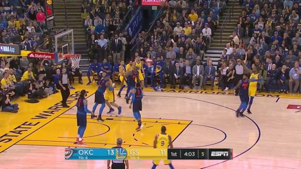 WSC: Kevin Durant (28 points) Highlights vs. Oklahoma City Thunder