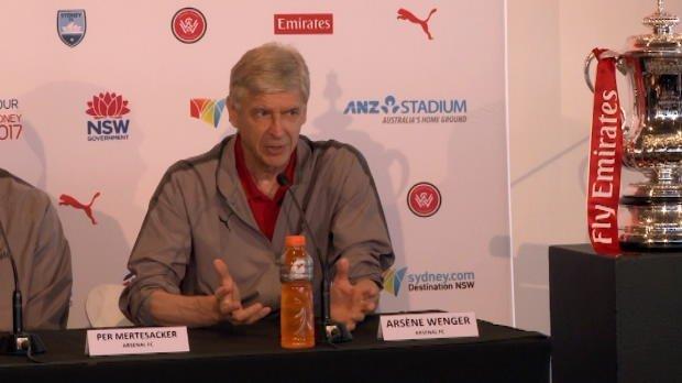 Arsenal 'loved' in Australia: Wenger