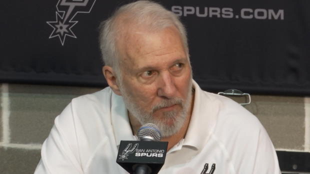 Basket : NBA - Spurs - Popovich pas obsédé par un nouveau titre