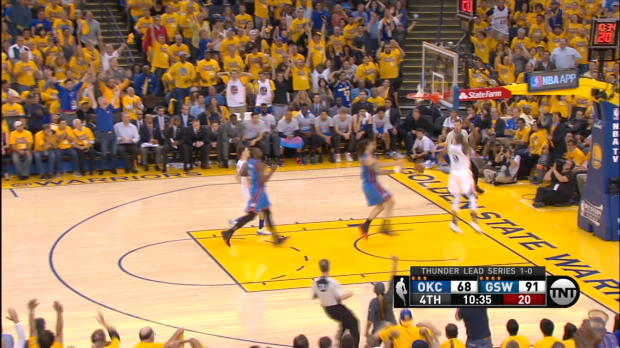 Dunk of the Night:Andre Iguodala