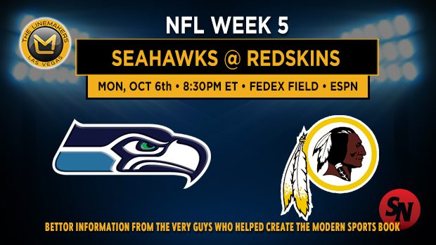 Seattle Seahawks @ Washington Redskins
