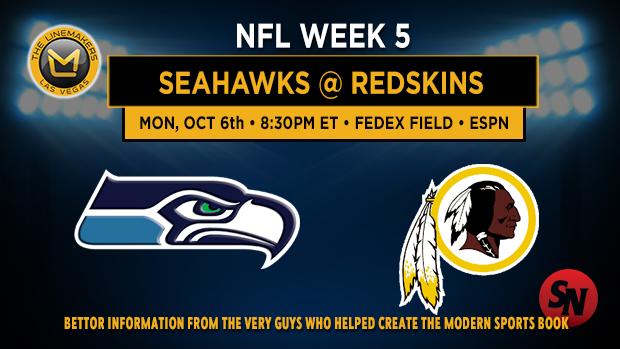 Seattle Seahawks @ Washington Redskins