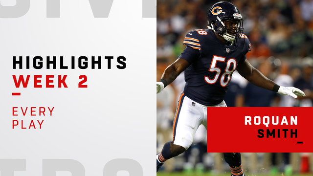 Every defensive play from Roquan Smith | Week 2