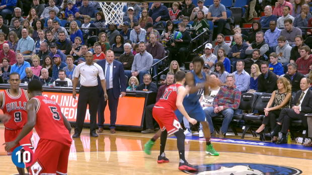 Andrew Wiggins' Top 10 Plays of the 2016-2017 NBA Season