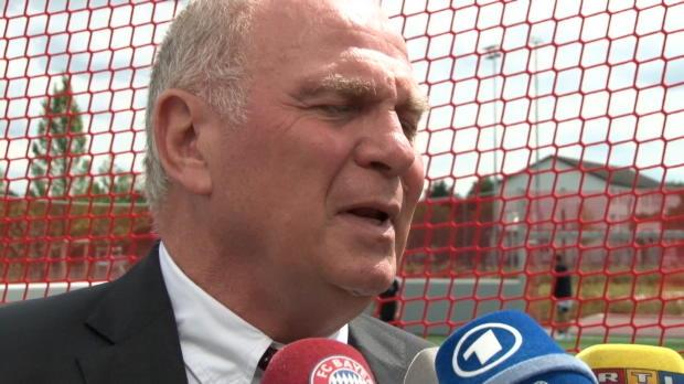 """Hoeneß: """"Beste Transfers macht man vor Juli"""""""