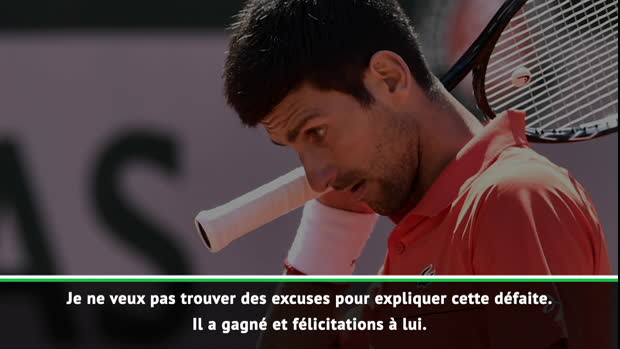 "Basket : Roland-Garros - Djokovic - ""Les pires conditions que j'ai connues"""