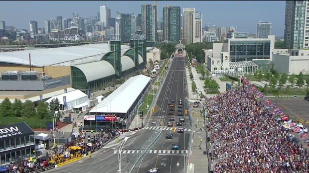 Indy Car Toronto Highlights