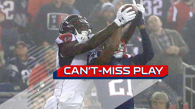 Can't-Miss Play: Julio Jones outduels Malcolm Butler on epic end-zone leap