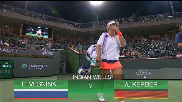 Indian Wells: Kerber scheitert an Vesnina